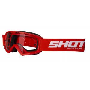 Detské motokrosové okuliare Shot Rocket červené