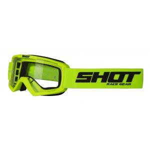 Detské motokrosové okuliare Shot Rocket fluorescenčno žlté