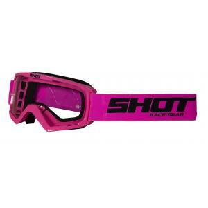 Detské motokrosové okuliare Shot Rocket ružové
