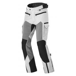 Nohavice na motocykel Cayenne Pro strieborno/čierne skrátené