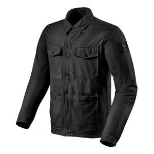 Košeľa na motorku Revit Worker čierna