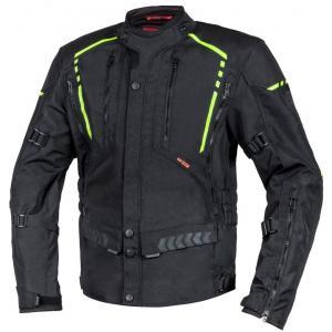 Moto bunda Ozone Tour II čierno-fluorescenčno žltá