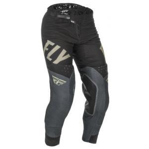 Motokrosové nohavice FLY Racing Evolution 2021 čierno-šedé