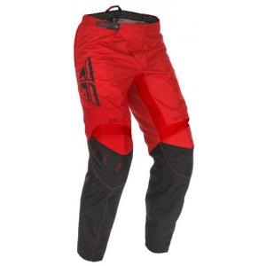 Motokrosové nohavice FLY Racing F-16 2021 červeno-čierne