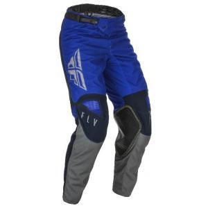 Motokrosové nohavice FLY Racing Kinetic K121 2021 modro-šedé