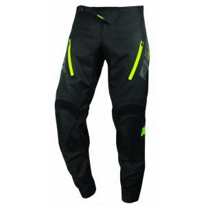 Motokrosové nohavice Shot Climatic čierno-fluorescenčno žlté