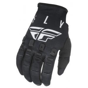 Motocrossové rukavice FLY Racing Kinetic K121 čierno-biele