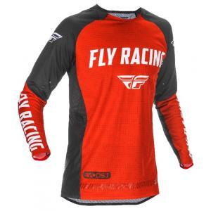 Motokrosový dres FLY Racing Evolution 2021 červeno-čierno-biely