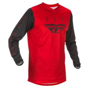 Motokrosový dres FLY Racing F-16 2021 červeno-čierny