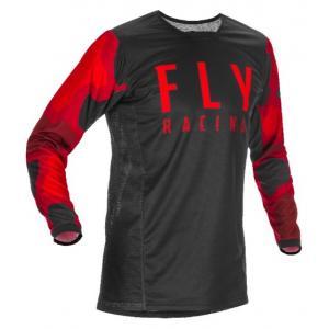 Motokrosový dres FLY Racing Kinetic K221 2021 červeno-čierny