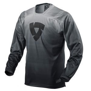 Motokrosový dres Revit Scramble čierno-biely