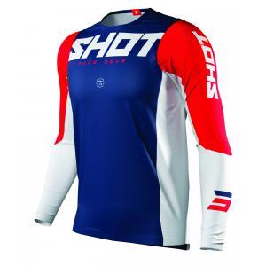 Motokrosový dres Shot Aerolite Airflow modro-bielo-červený