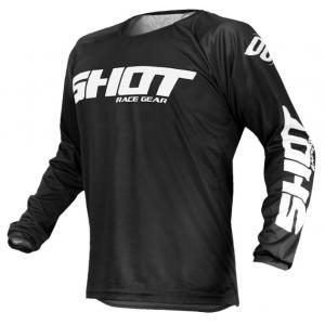 Motokrosový dres Shot Devo Raw čierny