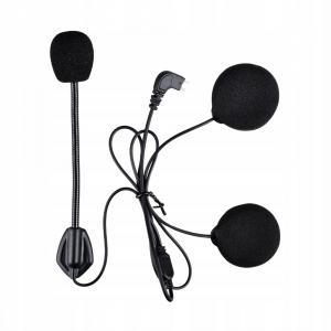 Náhradný ohybný mikrofón a slúchadlá pre Bluetooth Intercom MaxTo M2