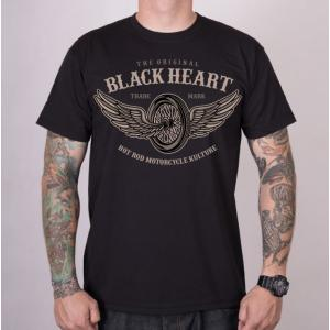 Pánske tričko Black Heart Wings