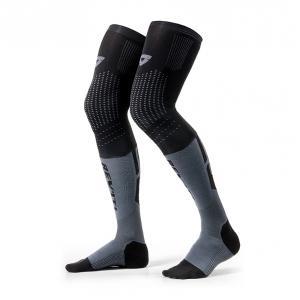 Ponožky na motocykel Revit Rift čierno-šedé
