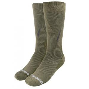 Ponožky Oxford Merino kaki zelené