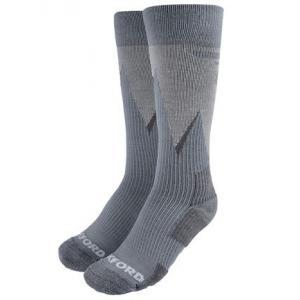 Ponožky Oxford Merino sivé