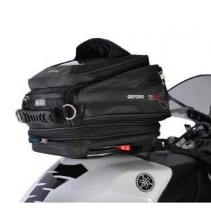 Tankbag na motocykel Oxford Q15R QR čierny 15 l