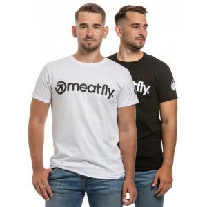 Tričko Meatfly 25 Years Pack čierne, biele (2 ks)
