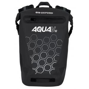Batoh odolný proti vode Oxford AQUA V12 čierny 12 l
