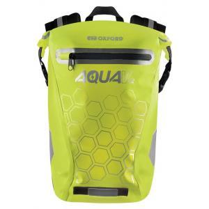 Batoh odolný proti vode Oxford AQUA V12 fluorescenčno žltý 12 l
