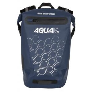 Batoh odolný proti vode Oxford AQUA V12 tmavomodrý 12 l