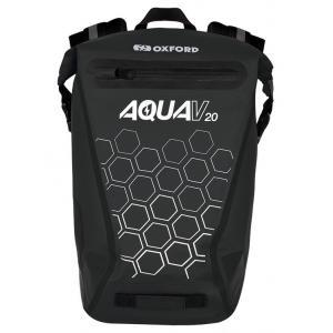 Batoh odolný proti vode Oxford AQUA V20 čierny 20 l