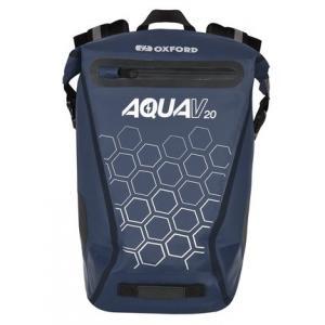 Batoh odolný proti vode Oxford AQUA V20 tmavomodrý 20 l