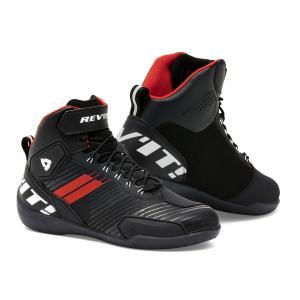 Motocyklová obuv Revit G-Force čierno-fluorescenčno červená