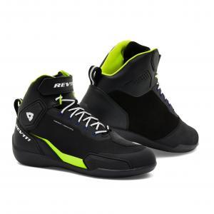 Motocyklová obuv Revit G-Force H2O čierno-fluorescenčno žltá