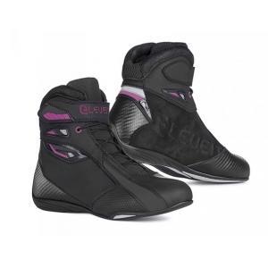 Dámska obuv na motocykel Eleveit T SPORT WP čierno-fialová - II. akosť