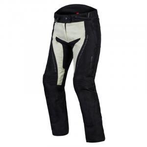 Dámske moto nohavice Rebelhorn Hiker III čierno-sivé