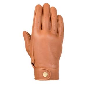 Dámske rukavice na motocykel 4SQUARE Dandy svetlohnedé