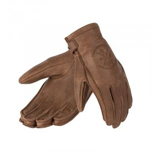 Dámske rukavice na motocykel BROGER Alaska hnedé