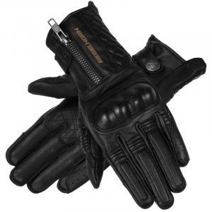 Dámske rukavice na motocykel Rebelhorn Hunter čierne