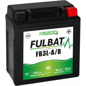 Gelový akumulátor FULBAT FB3L-A/B GEL (YB3L-A/B GEL)