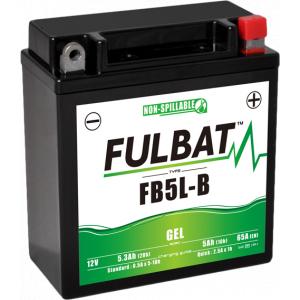Gelový akumulátor FULBAT FB5L-B GEL (YB5L-B GEL)