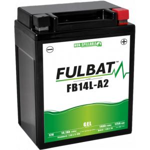 Gelový akumulátor FULBAT FB14L-A2 GEL (12N14-3A) (YB14L-A2 GEL)