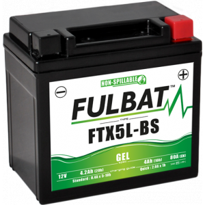 Gelový akumulátor FULBAT FTX5L-BS GEL (YTX5L-BS GEL)