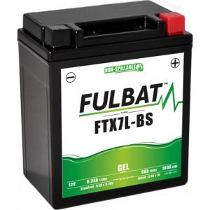 Gelový akumulátor FULBAT FTX7L-BS GEL (YTX7L-BS GEL)