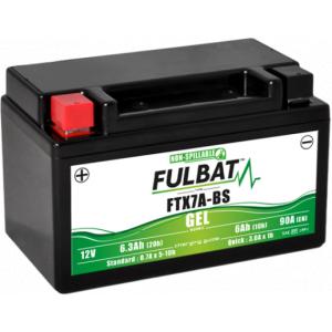 Gelový akumulátor FULBAT FTX7A-BS GEL (YTX7A-BS GEL)