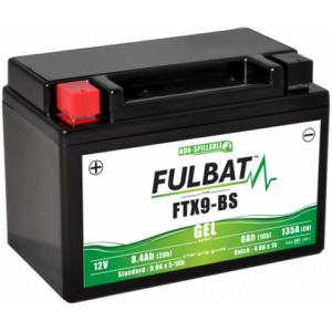 Gelový akumulátor FULBAT FTX9-BS GEL (YTX9-BS GEL)