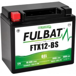 Gelový akumulátor FULBAT FTX12-BS GEL (YTX12-BS GEL)