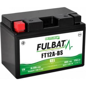 Gelový akumulátor FULBAT FT12A-BS GEL (YT12A-BS GEL)