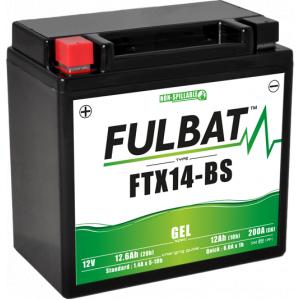 Gelový akumulátor FULBAT FTX14-BS GEL (YTX14-BS GEL)