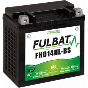 Gelový akumulátor FULBAT FHD14HL-BS GEL (Harley.D) (YHD14HL-BS GEL)