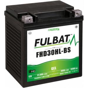 Gelový akumulátor FULBAT FHD30HL-BS GEL (Harley.D) (YHD30HL-BS GEL)
