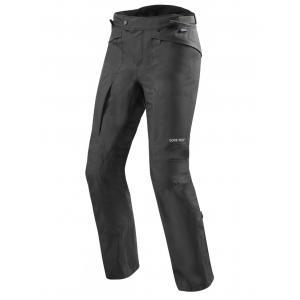 Nohavice na motocykel Revit Globe GTX čierne skrátené