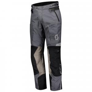 Kalhoty na motocykel SCOTT Dualraid Dryo šedo-čierne